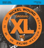 D'Addario EXL160 Nickel Wound